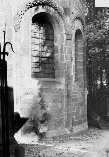 Eglise Notre-Dame Abside, fenêtre, Durand, Georges (photographe à Amiens),