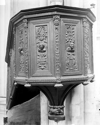Eglise Chaire, Neurdein (frères) ; Neurdein, Etienne ; Neurdein, Louis (photographe),