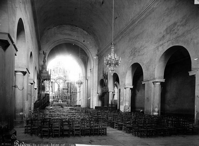 Eglise Saint-Sauveur Nef, Mieusement, Médéric (photographe),