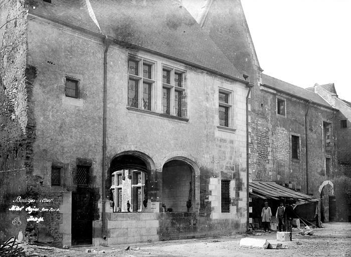 Hôtel Cujas Façade nord, Durand, Eugène (photographe),
