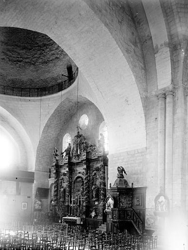 Eglise Saint-Etienne-de-la-Cité Choeur, Enlart, Camille (historien),
