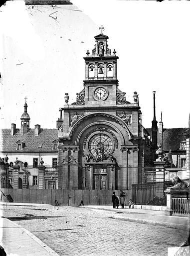 Hôpital général ; Hospice du Saint-Esprit (ancien) Chapelle Sainte-Croix de Jérusalem : Ensemble ouest, Delaunay (photographe),