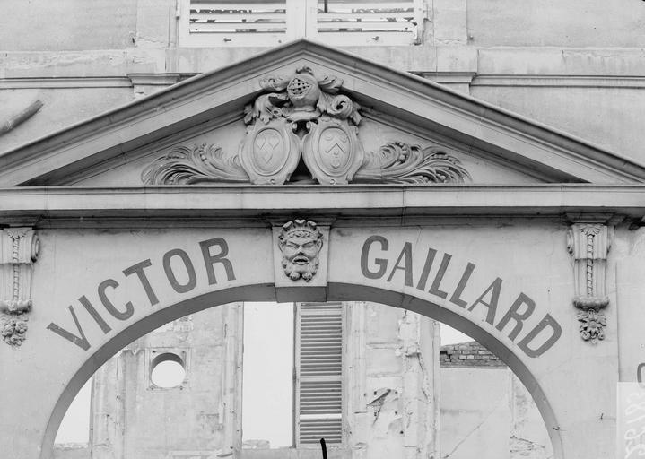 Porte Gaillard Fronton, Verneau, G.,