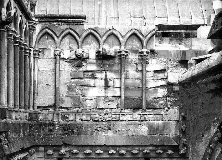 Cathédrale Notre-Dame Ancienne galerie du transept, avant restauration, Lajoie, Abel,