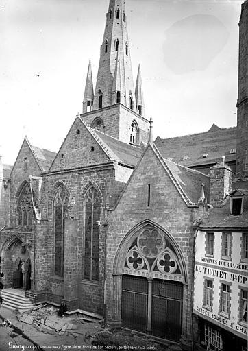 Eglise Notre-Dame-du-Bon-Secours Façade nord, Mieusement, Médéric (photographe),