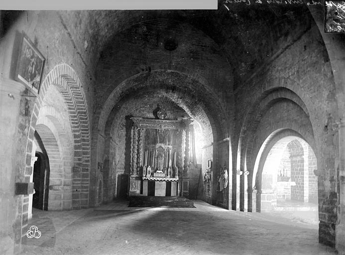 Eglise Vue intérieure du choeur, Mieusement, Médéric (photographe),