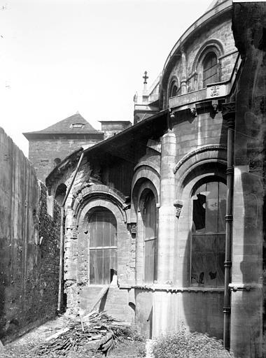 Eglise Saint-Martin-des-Champs Abside, détail, Enlart, Camille (historien),