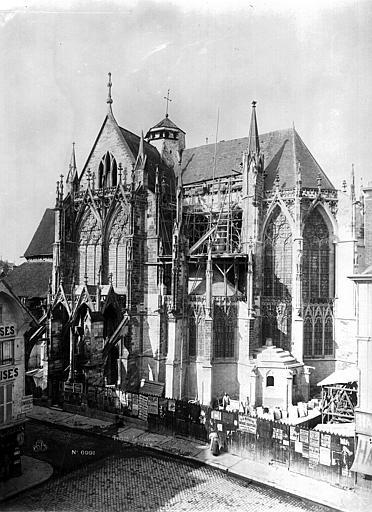 Eglise Saint-Urbain Façade sud, Durand, Eugène (photographe),