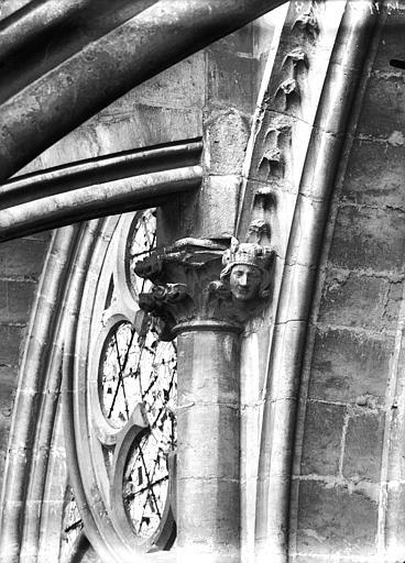 Cathédrale Notre-Dame Chapiteau et sommier d'arc, Lajoie, Abel,