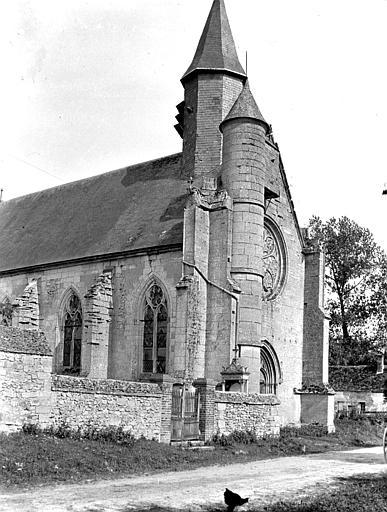 Eglise Angle nord-ouest, Chaine, Henri (architecte),
