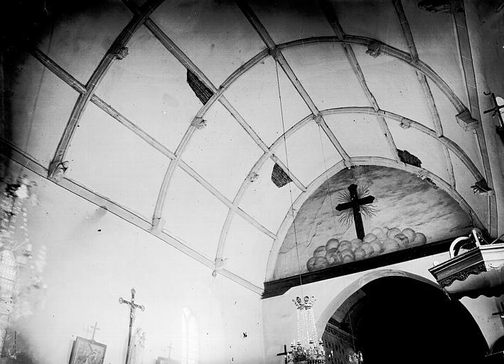 Eglise Voûte, Enlart, Camille (historien),