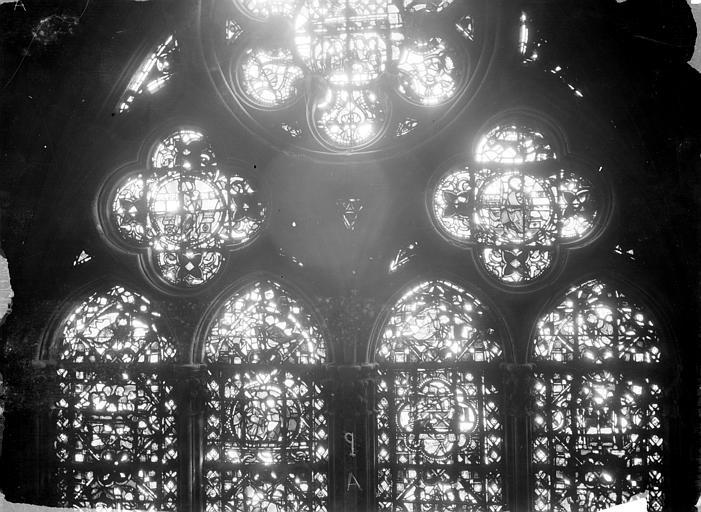 Cathédrale Notre-Dame Chapelles du choeur, vitrail Q, Gaudin,