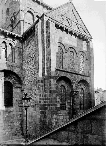 Eglise Notre-Dame-du-Port Transept, Enlart, Camille (historien),