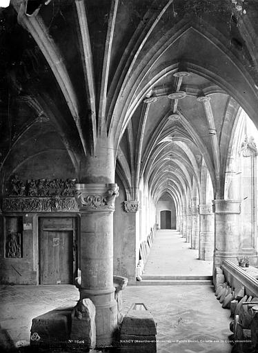 Palais Ducal (ancien) Vue intérieure de la galerie sur cour, Mieusement, Médéric (photographe),