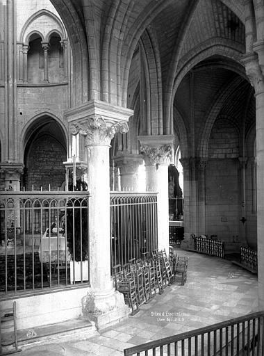 Abbaye Saint-Nicolas (ancienne) Eglise, pourtour du choeur, Durand, Eugène (photographe),
