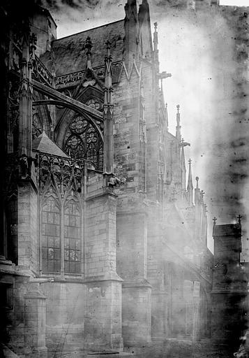 Eglise Saint-Urbain Bras sud du transept, Enlart, Camille (historien),