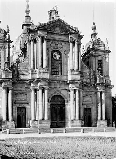 Cathédrale Saint-Louis Façade nord, Mieusement, Médéric (photographe),