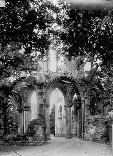 Abbaye (ancienne) Abside église, Durand, Eugène (photographe),