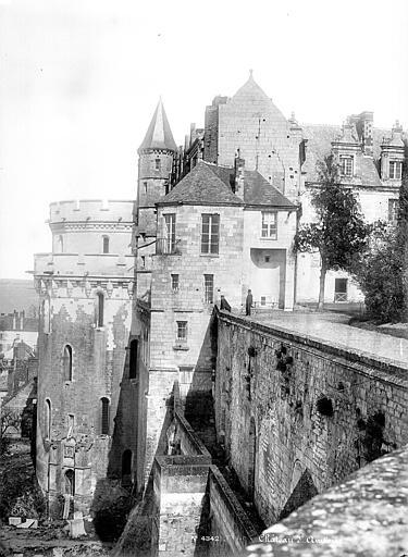 Château Tour des Minimes et logis du roi, côté ouest, Mieusement, Médéric (photographe),