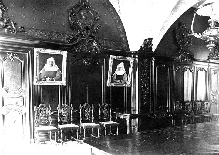 Hôpital Vue intérieure d'une salle, Heuzé, Henri (photographe),