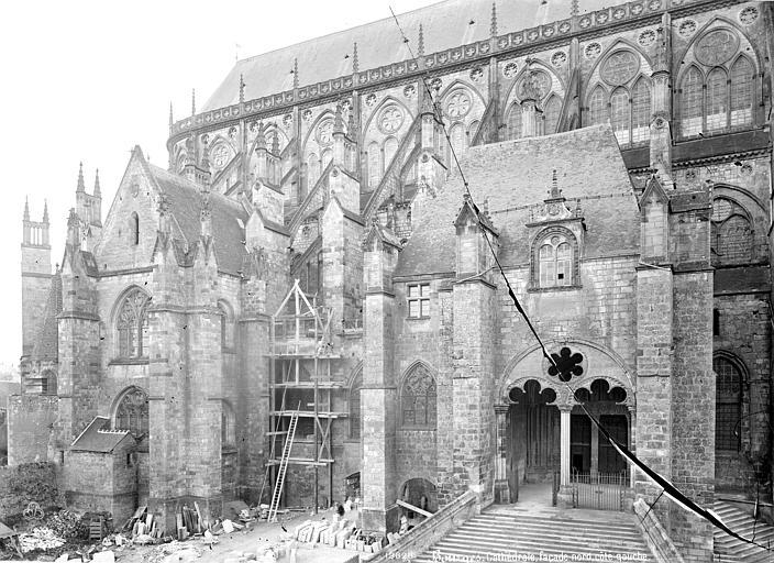 Cathédrale Saint-Etienne Façade nord : Partie est, Mieusement, Médéric (photographe),