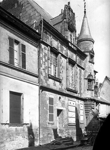 Cathédrale (ancienne) Evêché, Durand, Eugène (photographe),