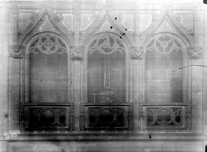 Eglise Saint-Nizier Triforium du choeur, Durand, Eugène (photographe),