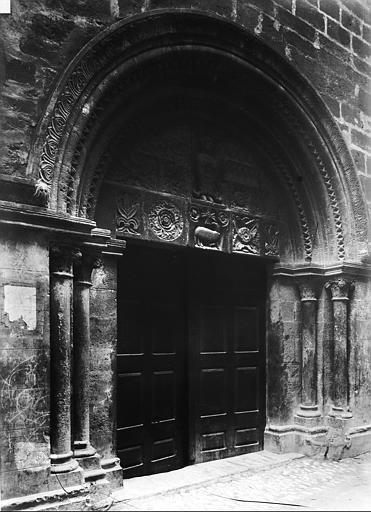 Eglise Saint-Michel Portail ouest, Durand, Eugène (photographe),