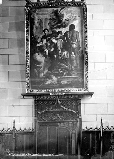 Eglise Saint-Catherine , Robert, Paul (photographe), 59 ; Lille ; Musée des Beaux-Arts (en dépôt)