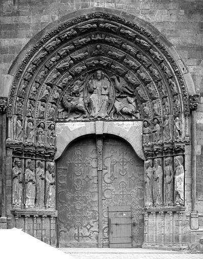 Cathédrale Saint-Maurice Portail de la façade ouest (ensemble), Mieusement, Médéric (photographe),
