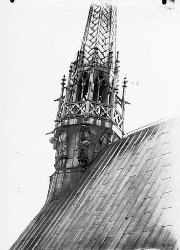 Cathédrale Notre-Dame Base du clocher à l'Ange, Lajoie, Abel,