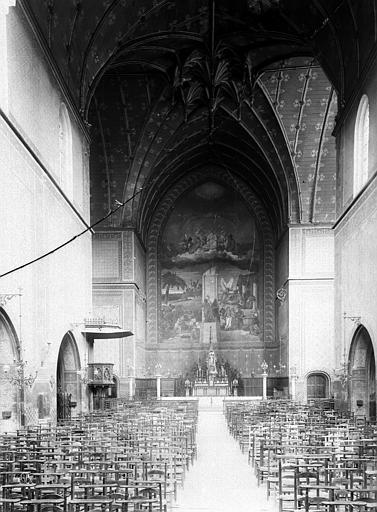 Eglise Saint-Jean Nef, choeur, Durand, Eugène (photographe),