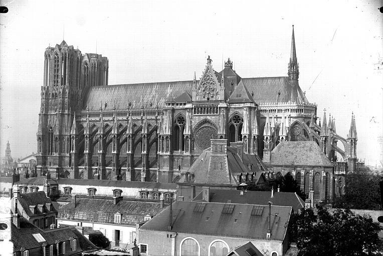 Cathédrale Notre-Dame Ensemble sud, Lajoie, Abel,