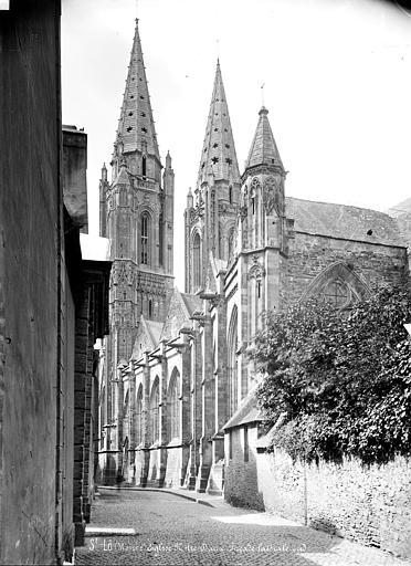 Eglise Notre-Dame Façade sud, en perspective vers l'ouest, Mieusement, Médéric (photographe),