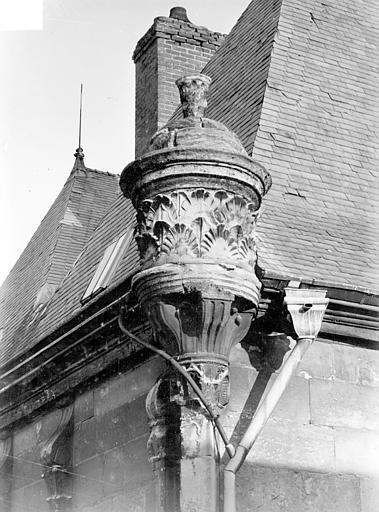 Hôtel Le Vergeur ; Musée du Vieux Reims Angle des façades : motif d'angle, Sainsaulieu, Max (photographe),