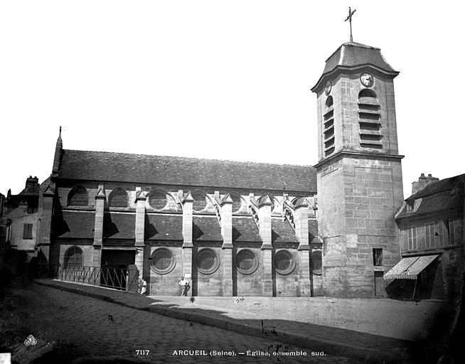 Eglise Saint-Denys Ensemble sud, Durand, Eugène (photographe),