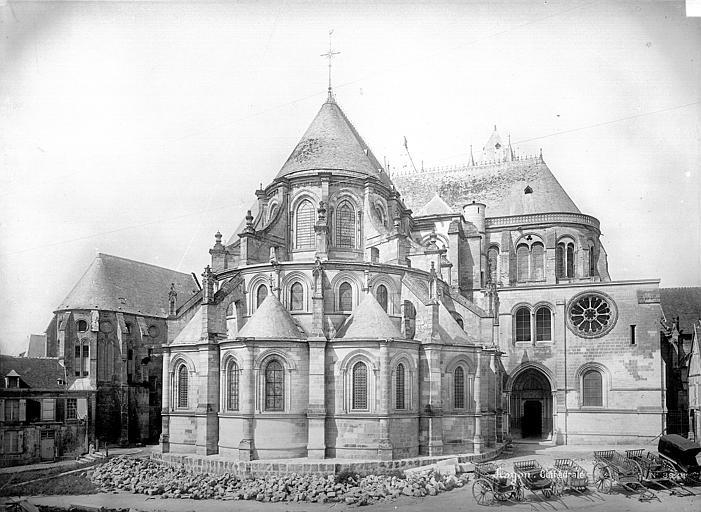 Cathédrale (ancienne) Ensemble est, Mieusement, Médéric (photographe),