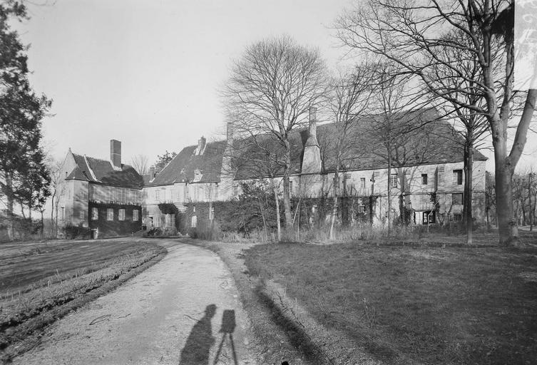 Abbaye du Moncel (ancienne) Bâtiments, côté ouest, Service photographique,