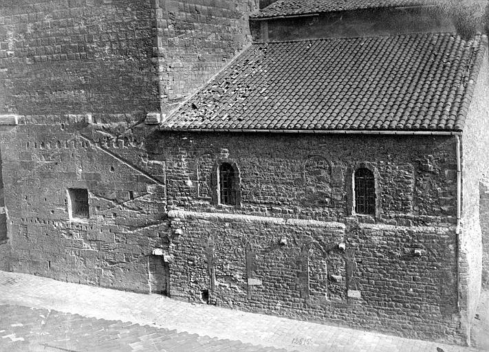 Eglise de la vieille Major (ancienne cathédrale) Façade nord, côté abside, Mieusement, Médéric (photographe),
