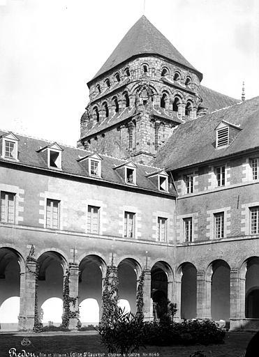 Eglise Saint-Sauveur Clocher et cloître, Mieusement, Médéric (photographe),