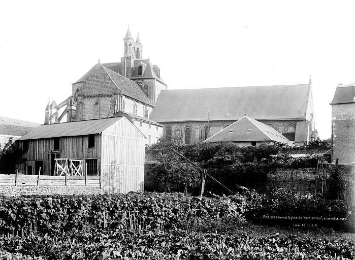 Eglise Saint-Jean de Montierneuf Vue générale prise du nord, Durand, Jean-Eugène (photographe),