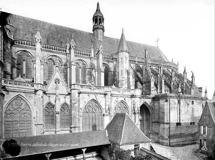 Cathédrale Saint-Cyr-et-Sainte-Julitte Façade sud : partie est, Mieusement, Médéric (photographe),