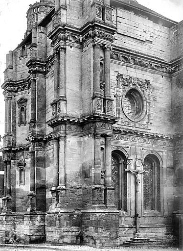 Eglise Saint-Gervais-Saint-Protais Façade ouest vue en perspective, Mieusement, Médéric (photographe),