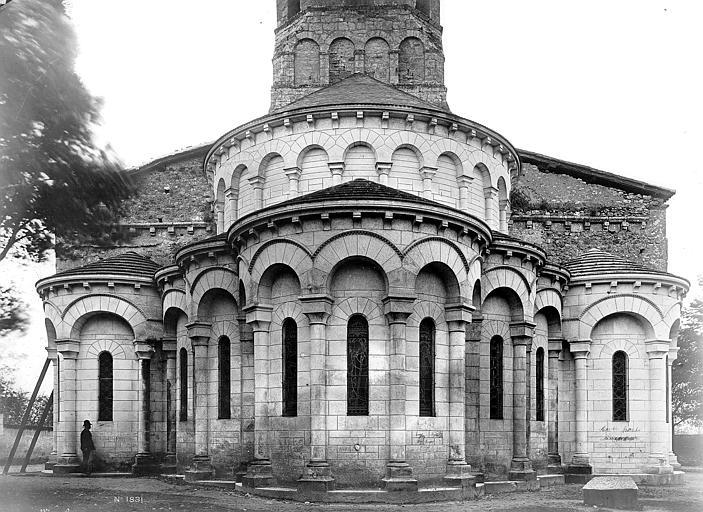 Eglise Saint-Maurice Chevet, Mieusement, Médéric (photographe),