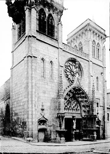 Eglise Notre-Dame-du-Marthuret Façade, Enlart, Camille (historien),