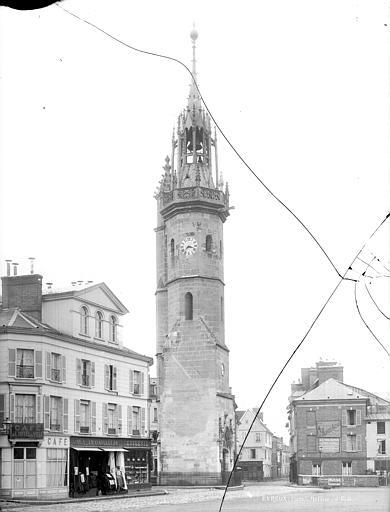 Tour de l'Horloge Vue d'ensemble, Durand, Jean-Eugène (photographe),
