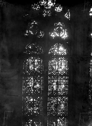 Cathédrale Notre-Dame Chapelles du choeur, vitrail F', Gaudin,