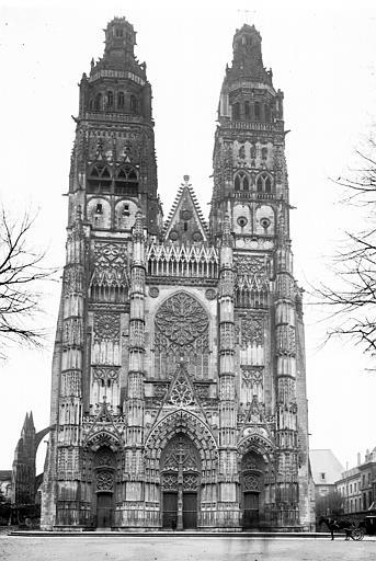 Cathédrale Saint-Gatien Ensemble ouest, Enlart, Camille (historien),
