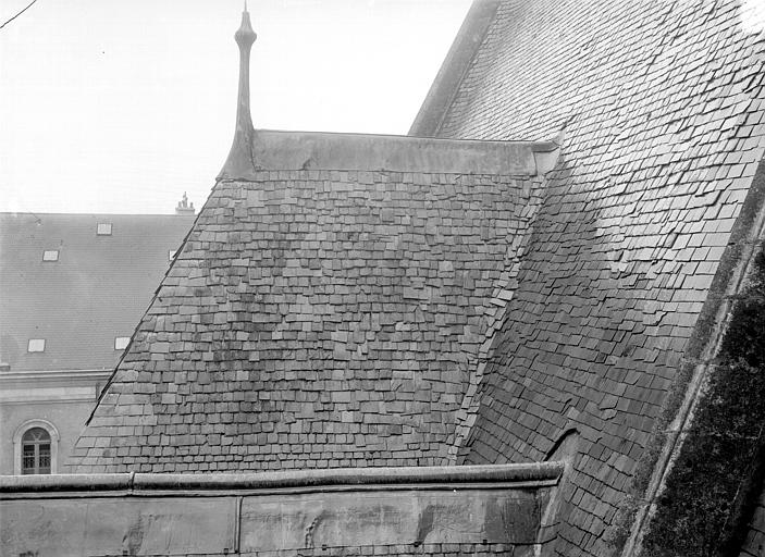 Hôtel de Jacques-Coeur Toitures, Durand, Jean-Eugène (photographe),