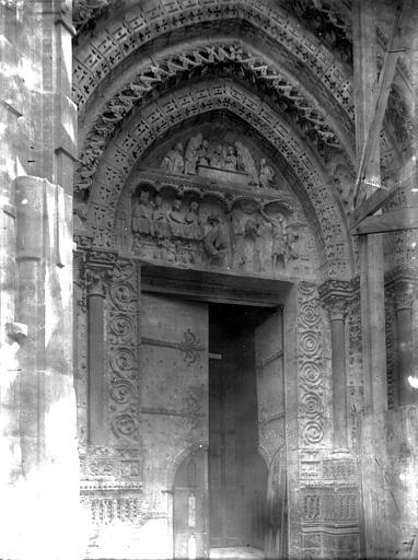 Cathédrale Notre-Dame Portail Saint-Jean, Enlart, Camille (historien),